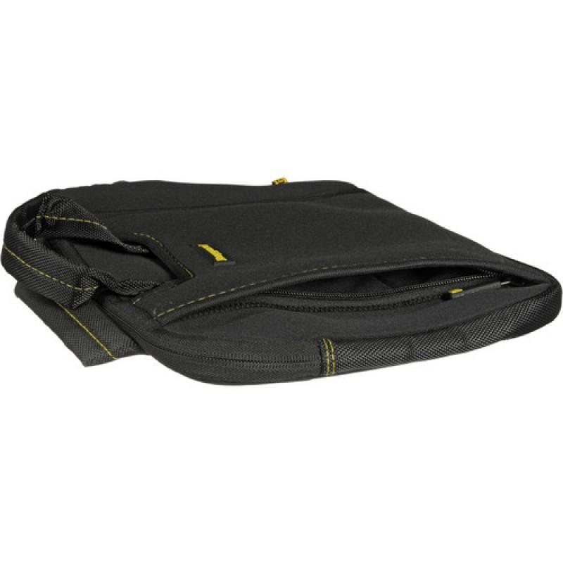 0dcfbc86640c Ruggard 15 Ultra Thin Laptop Sleeve with Handles (Black/Yellow)