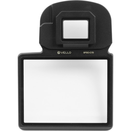 Vello LCD Screen Protector Ultra for Canon 7D Mark II Camera 2 Pack