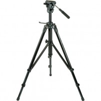 Magnus VT-400 Aluminum Tripod System with 2-Way Fluid Pan Head