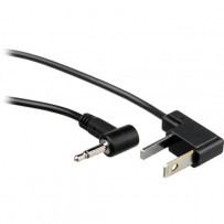 Impact Sync Cord Male Mini to Male Household (3')