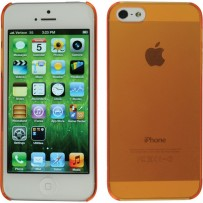 Xuma Ultraslim Snap-on Case for iPhone 5 (Orange)