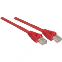 Pearstone 3' Cat5e Snagless Patch Cable (Red)
