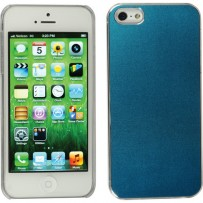 Xuma Aluminum Snap-on Case for iPhone 5 (Blue)