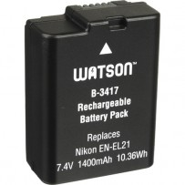 Watson EN-EL21 Lithium-Ion Battery Pack (7.4V, 1400mAh)