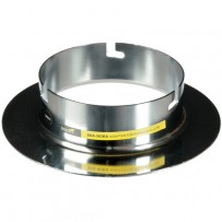 Impact Beauty Dish Adapter for Norman Allure Flash Heads