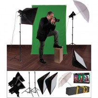 Impact EX100 Ultimate Creative Portrait Kit (120VAC)