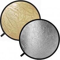 Impact Collapsible Circular Reflector Disc - Gold/Silver - 12