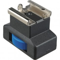Pearstone Accessory Shoe Adapter with 1/4-20 Socket Connection