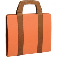 Xuma Tote Portfolio Case for iPad 2nd, 3rd, 4th Gen (Orange)