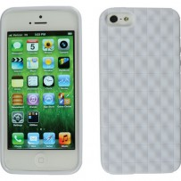 Xuma Textured Flex Case for iPhone 5 (White)