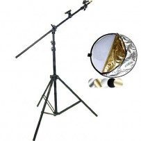 Impact 22 5-in-1 Reflector with Lightstand and Holder Kit