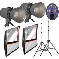 Impact Two Monolight Softbox Kit (120VAC)
