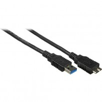 Pearstone USB 3.0 Type A Male to Micro Type B Male Cable - 15'