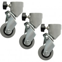 Impact Caster Set for Light Stands with 22mm Tubular Leg Ends