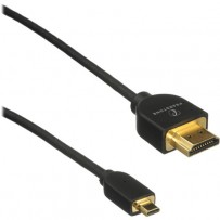 Pearstone High-Speed HDMI to Micro HDMI Cable with Ethernet - 3'