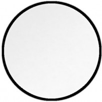 Impact Collapsible Circular Reflector Disc - White Translucent - 22