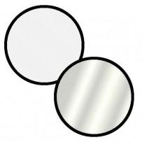 Impact Collapsible Circular Reflector Disc - Silver/White - 32