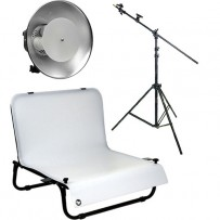 Impact One Light Boom Desktop Studio Kit