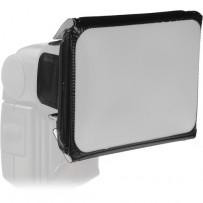 Vello Universal Softbox with Colored Gels Kit for Portable Flash (Small)