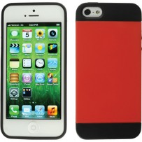Xuma Hybrid Case for iPhone 5 (Red)