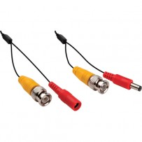 Pearstone BNC Extension Cable with Power for CCTVs (150 ft)
