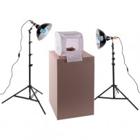 Impact Two-Light Digital Light Shed Kit - 10.5 x 10.5