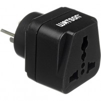 Watson Adapter Plug - 3-Prong USA to 3-Prong Israel (Type H, SI 32)
