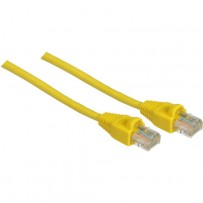 Pearstone 1' Cat5e Snagless Patch Cable (Yellow)