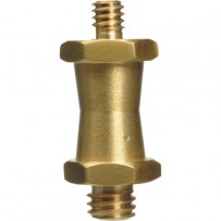Impact Short Double Male Stud for Super Clamps with 1/4-20 & 3/8 Threads