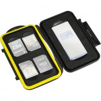 Ruggard Memory Card Case for 1 SxS and Up to 4 SD Cards