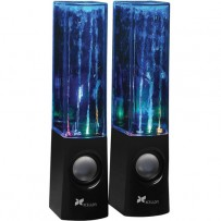 Xcellon Dancing Water Speakers - Four LEDs (Black)