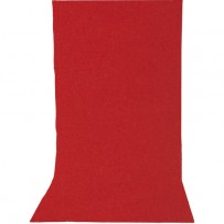 Impact Solid Muslin Background (10 x 12', Ruby Red)
