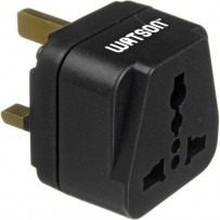 Watson Adapter Plug - 3-Prong USA to 3-Prong UK (Type G)