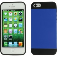Xuma Hybrid Case for iPhone 5 (Blue)