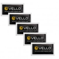 Vello Anti-Static Screen Cleaning Wipes (5-Pack)