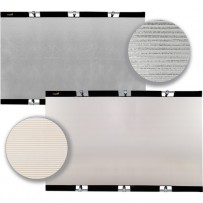 Impact Panel Frame Reflector Kit - Zebra Gold / Zebra Silver (59 x 82)