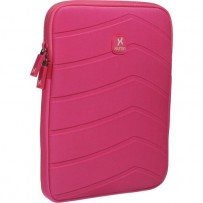 Xuma Textured Neoprene Sleeve for All iPads (Pink)