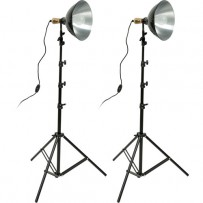 Impact Tungsten 10 Reflector Two-Floodlight Light Kit