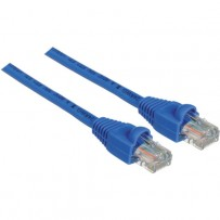 Pearstone 1' Cat5e Snagless Patch Cable (Blue)