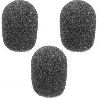 Auray WLF-014-3 Foam Windscreens for 1/4 Diameter Microphones (3 Pack)