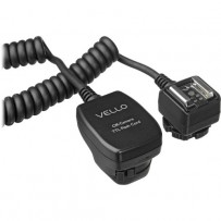 Flash Cord for Canon EOS - TTL Off-Camera - Vello (1.5-foot, .5 meter)