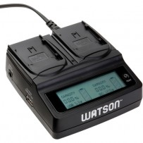 Watson Duo LCD Charger for BP-900 Series Batteries