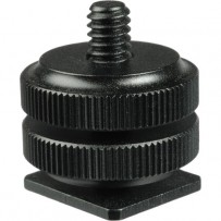 Revo Hot Shoe to 1/4-20 Male Post Adapter