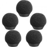 Auray WLF-EC77-5 Foam Windscreens for Sony ECM-77 Lavalier Microphone (5-Pack)