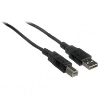 Pearstone USB 2.0 Type A Male to Type B Male Cable - 15' (4.6 m)