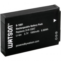 Watson B-1801 Lithium-Ion Battery Pack (3.7V, 1800mAh)