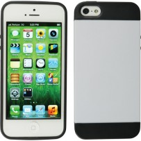 Xuma Hybrid Case for iPhone 5 (White)