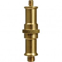 Impact Double Ended Spigot with 1/4-20 and 3/8 Male Threads