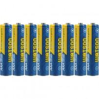 Watson AAA NiMH Rechargeable Batteries (1000mAh) - 8-Pack