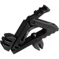 Auray Microphone Clip for Miniature Lavalier Microphones (Black)